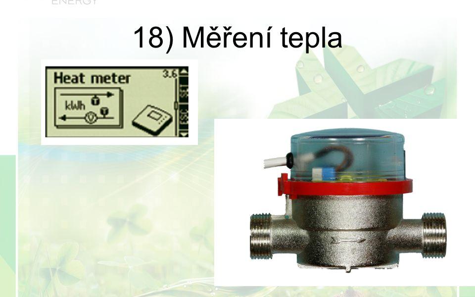 18) Měření tepla