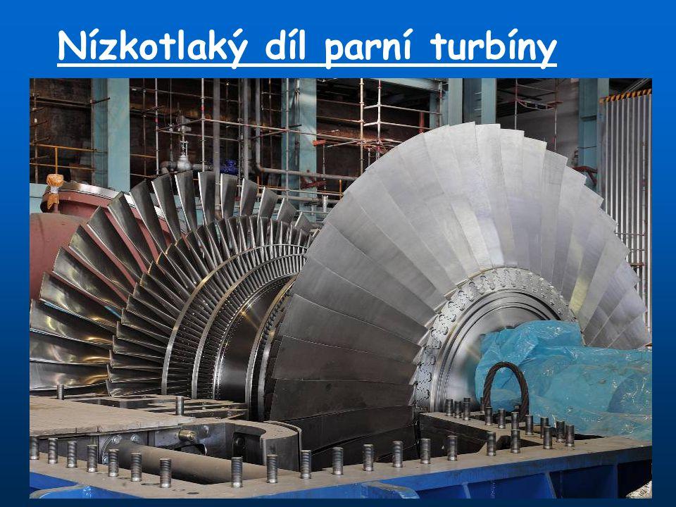 Nízkotlaký díl parní turbíny