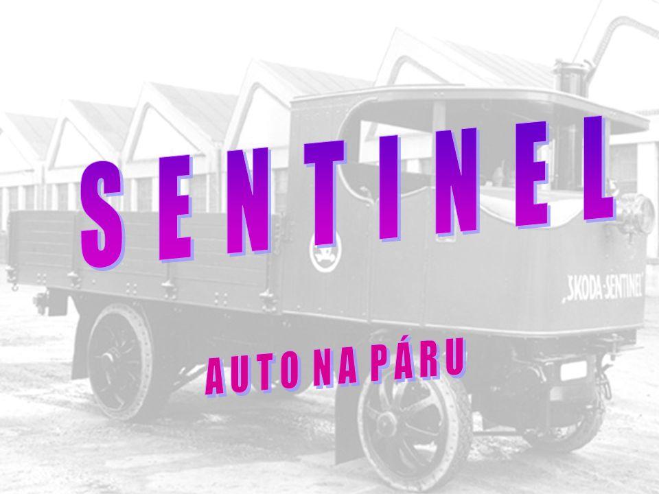 Kropící vůz Škoda Sentinel jiného typu před předáním