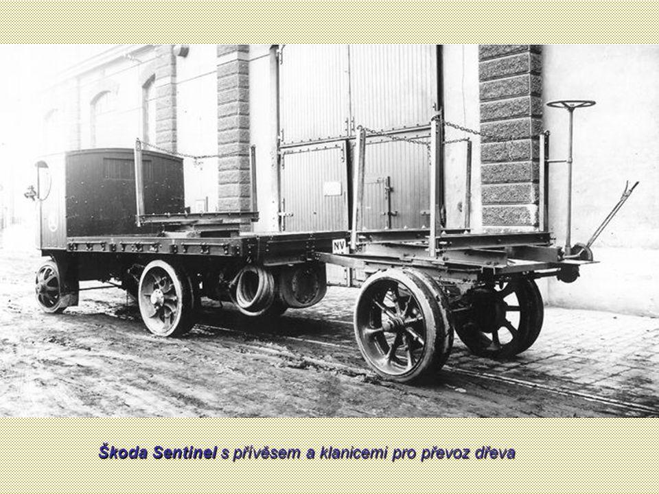 Sklápěč Škoda Sentinel se zvýšenými bočnicemi pro převoz sypkých hmot
