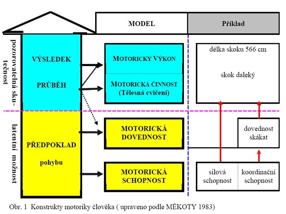 Předmět studia Motorické předpoklady Motorické projevy Ontogeneze motoriky Diagnostické prostředky -tvorba a studium