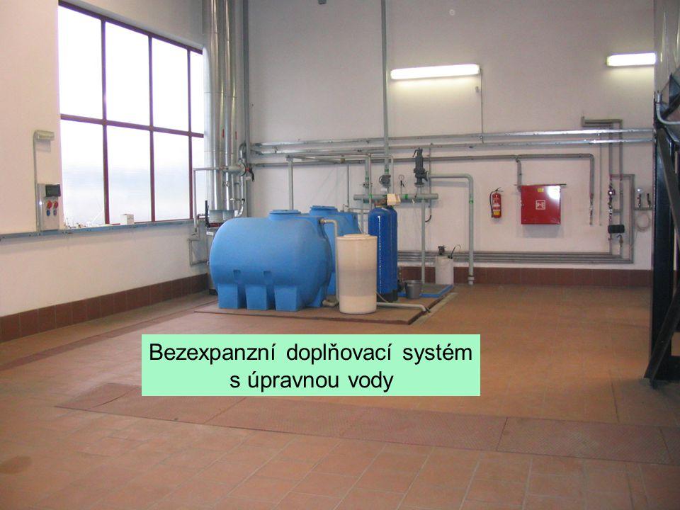 Bezexpanzní doplňovací systém s úpravnou vody