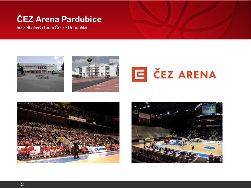 ČEZ Arena Pardubice basketbalový chrám České Republiky  21