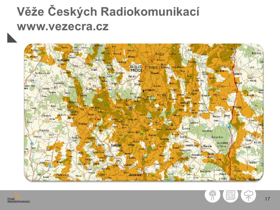 17 Věže Českých Radiokomunikací www.vezecra.cz