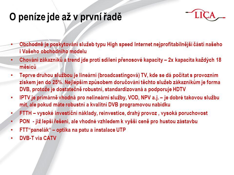 """Jak na internet po """"koaxu - DOCSIS CMTS"""
