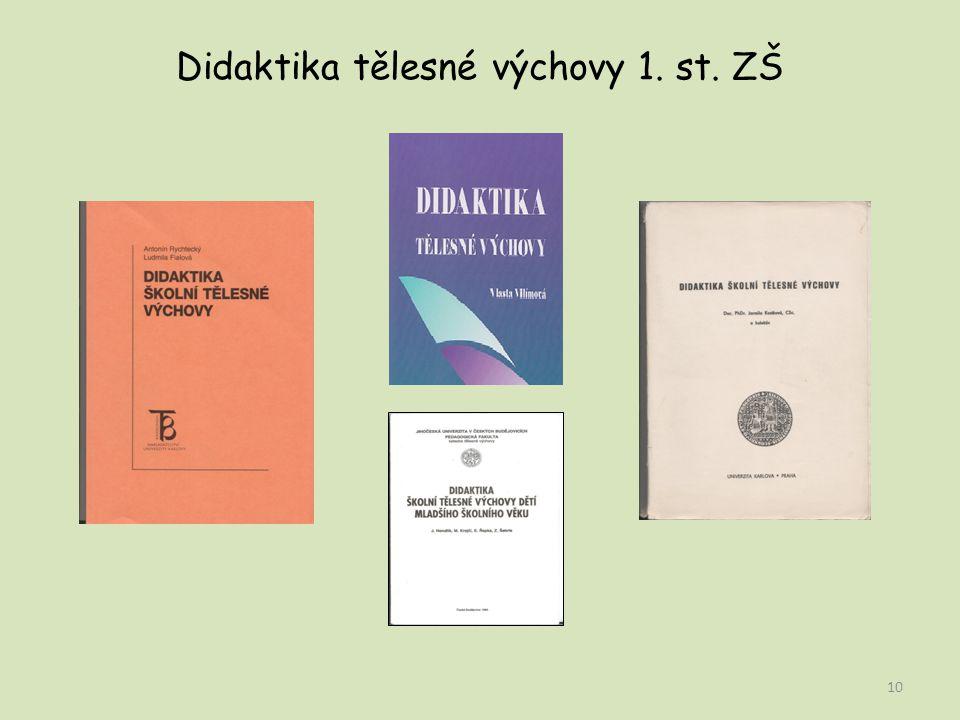 Didaktika tělesné výchovy 1. st. ZŠ 10