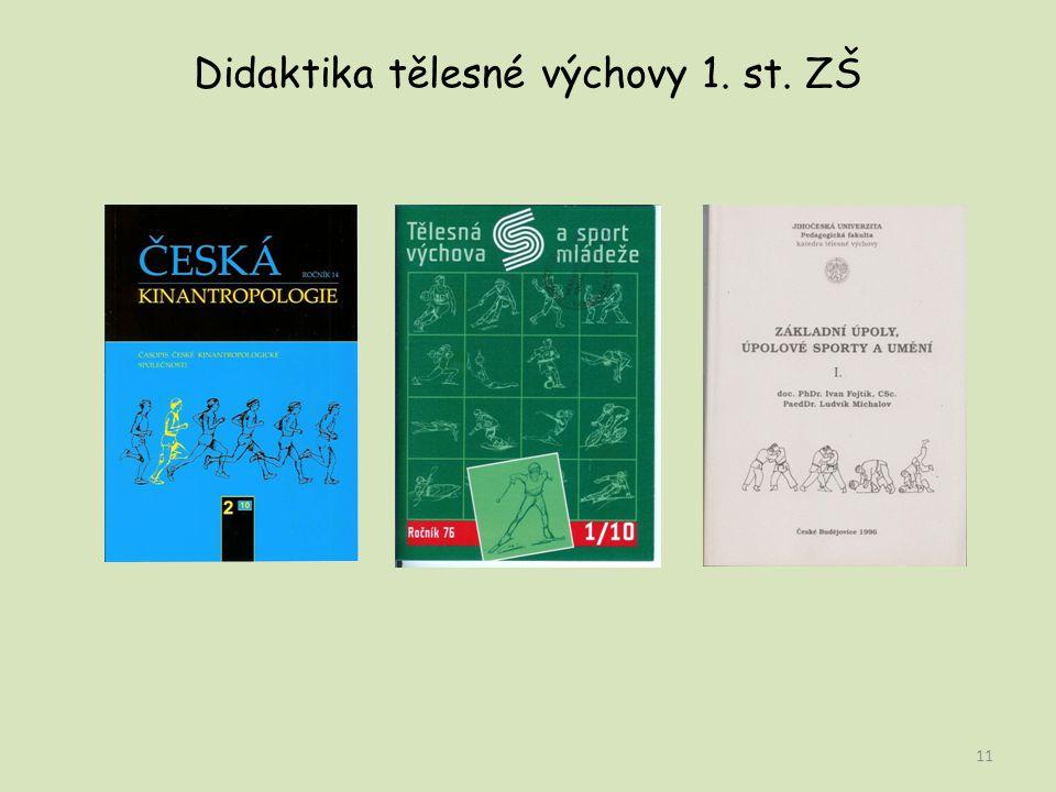 Didaktika tělesné výchovy 1. st. ZŠ 11