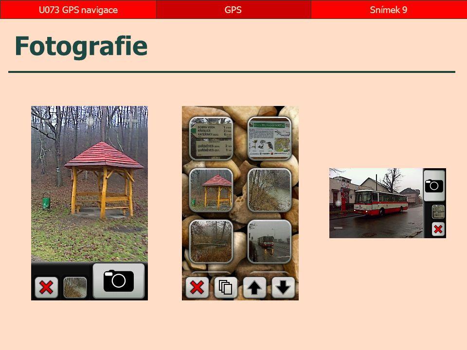 Další aplikace Smart Hub GPSSnímek 50U073 GPS navigace