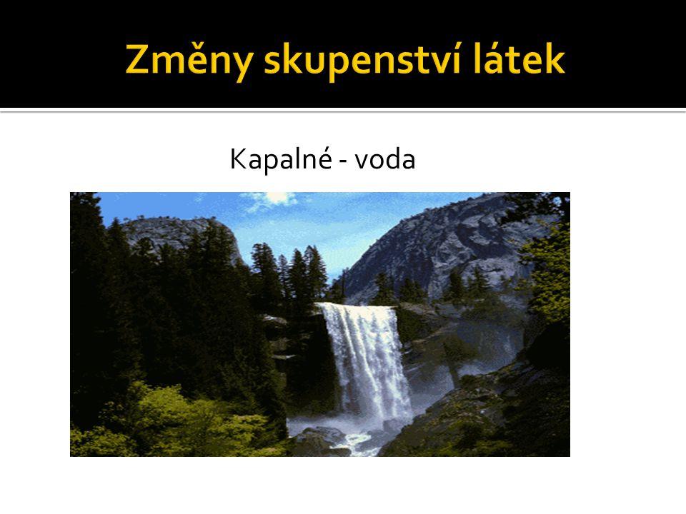 Kapalné - voda