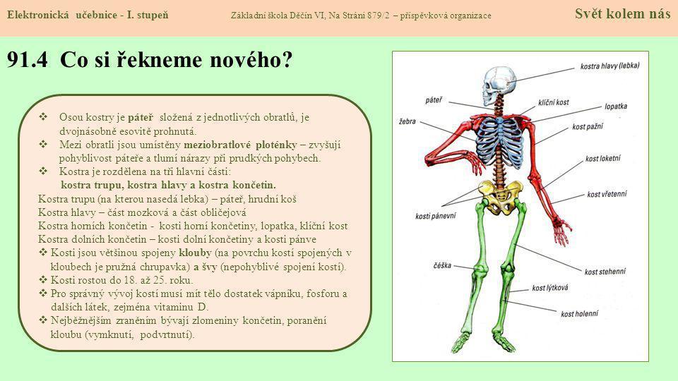 91.5 Procvičení a příklady Elektronická učebnice - I.