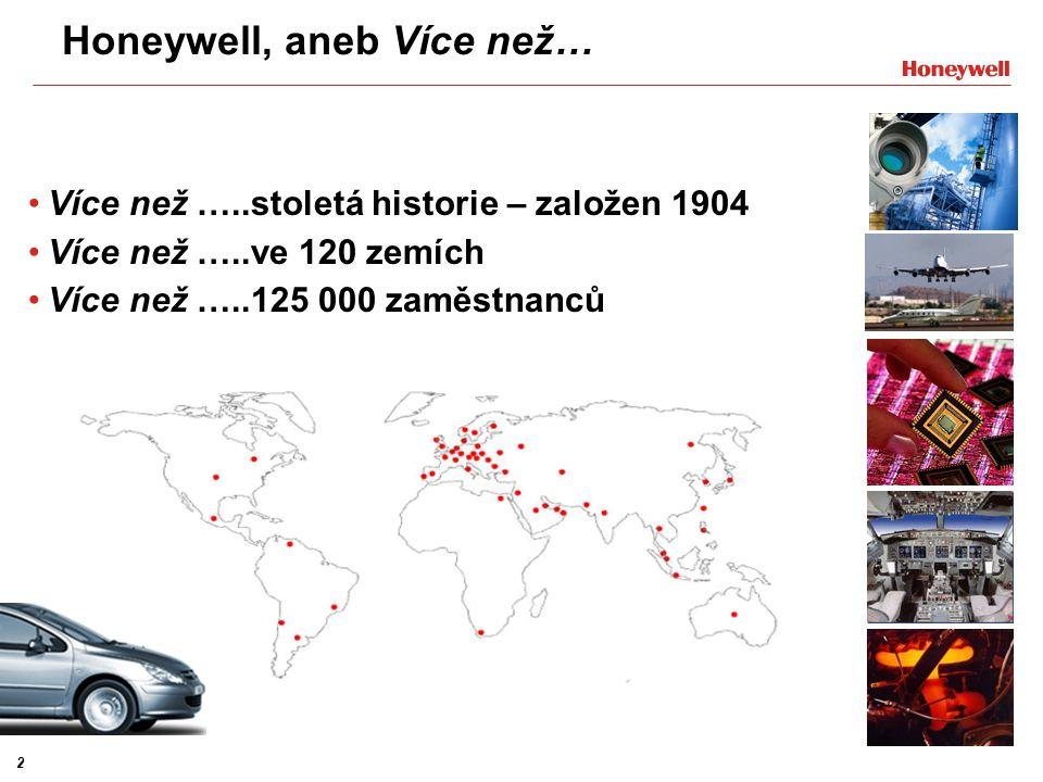 3 Oblasti celosvětového působení Řešení pro automatizaci a řízení Letectví Dopravní systémy Speciální materiály – divize není v ČR zastoupena