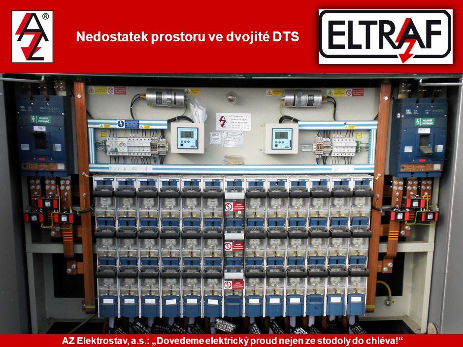 """Nedostatek prostoru ve dvojité DTS AZ Elektrostav, a.s.: """"Dovedeme elektrický proud nejen ze stodoly do chléva!"""""""
