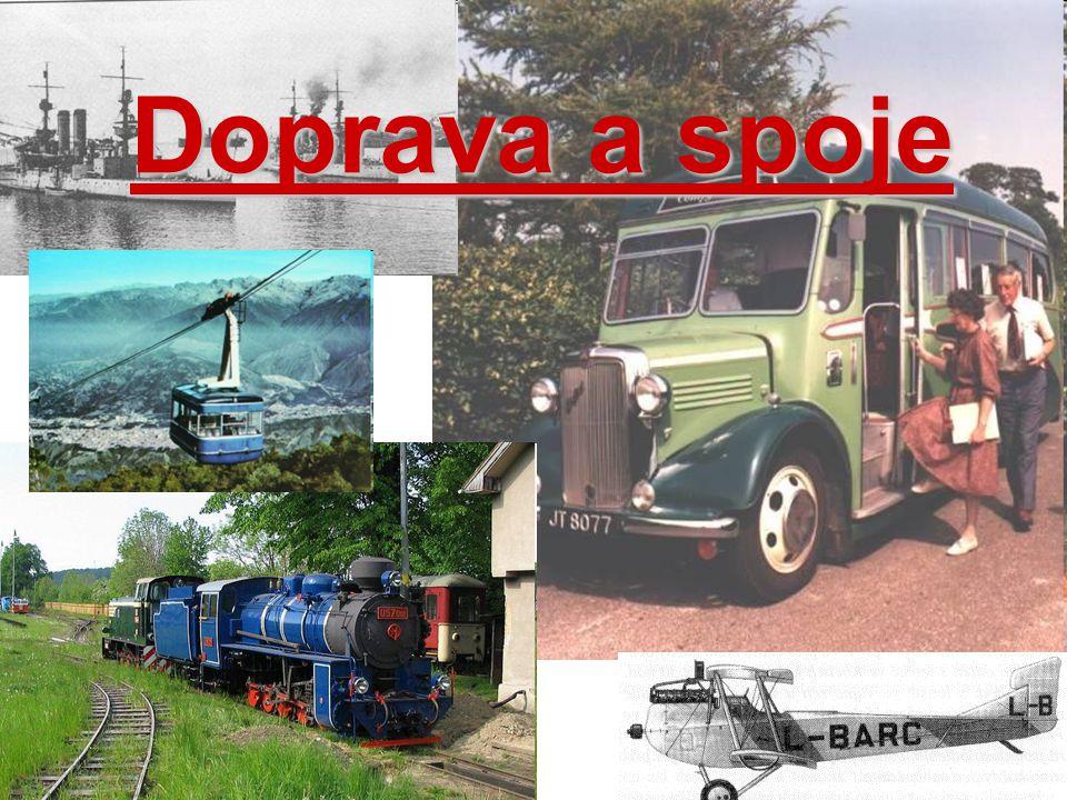 Doprava a spoje