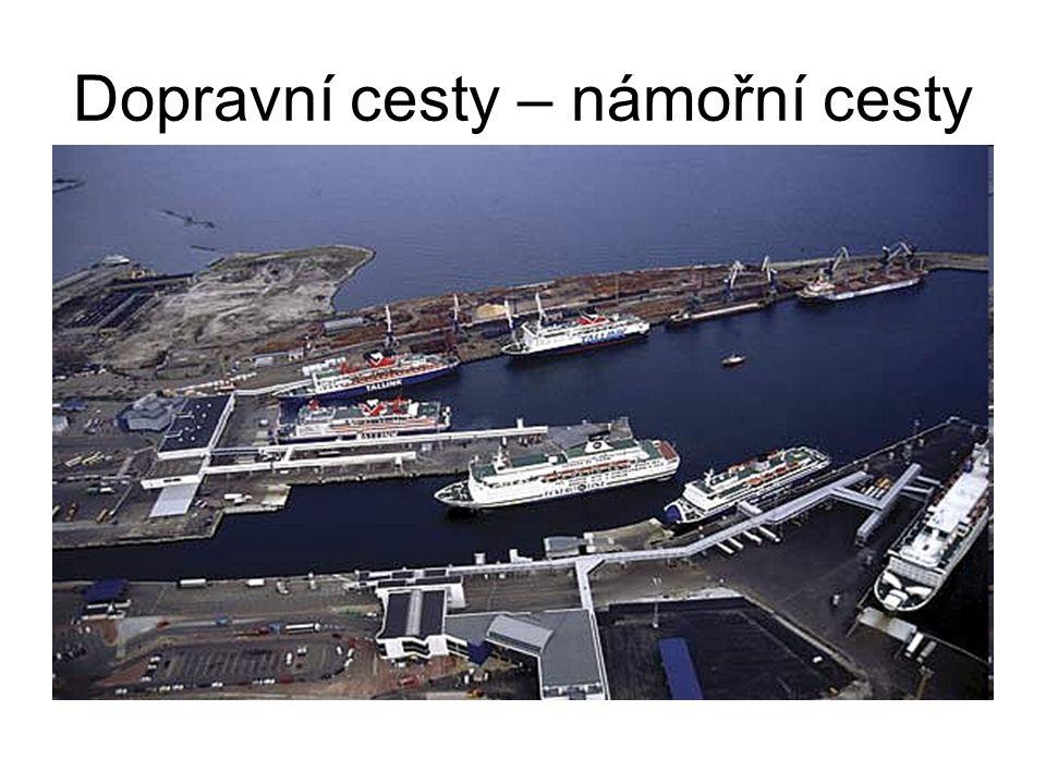 Letecká doprava + nejrychlejší (přeprava osob a zboží podléhající zkáze) -Nákladná Nejfrekventovanější trať – Evropa a Sev.