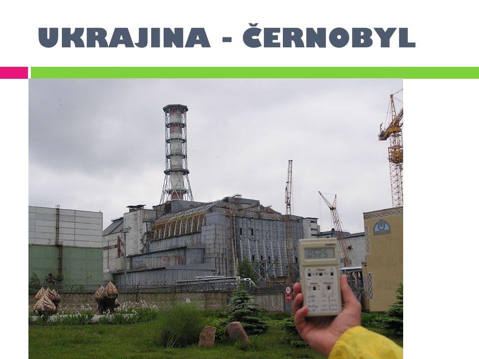 UKRAJINA - ČERNOBYL