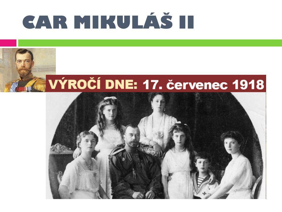 CAR MIKULÁŠ II