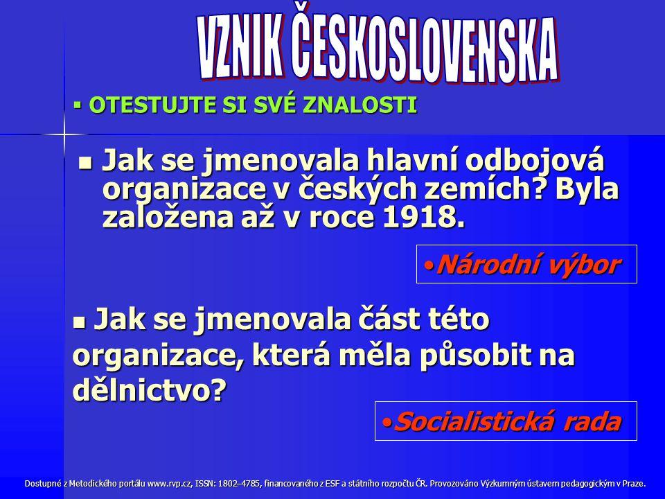 Dostupné z Metodického portálu www.rvp.cz, ISSN: 1802–4785, financovaného z ESF a státního rozpočtu ČR.