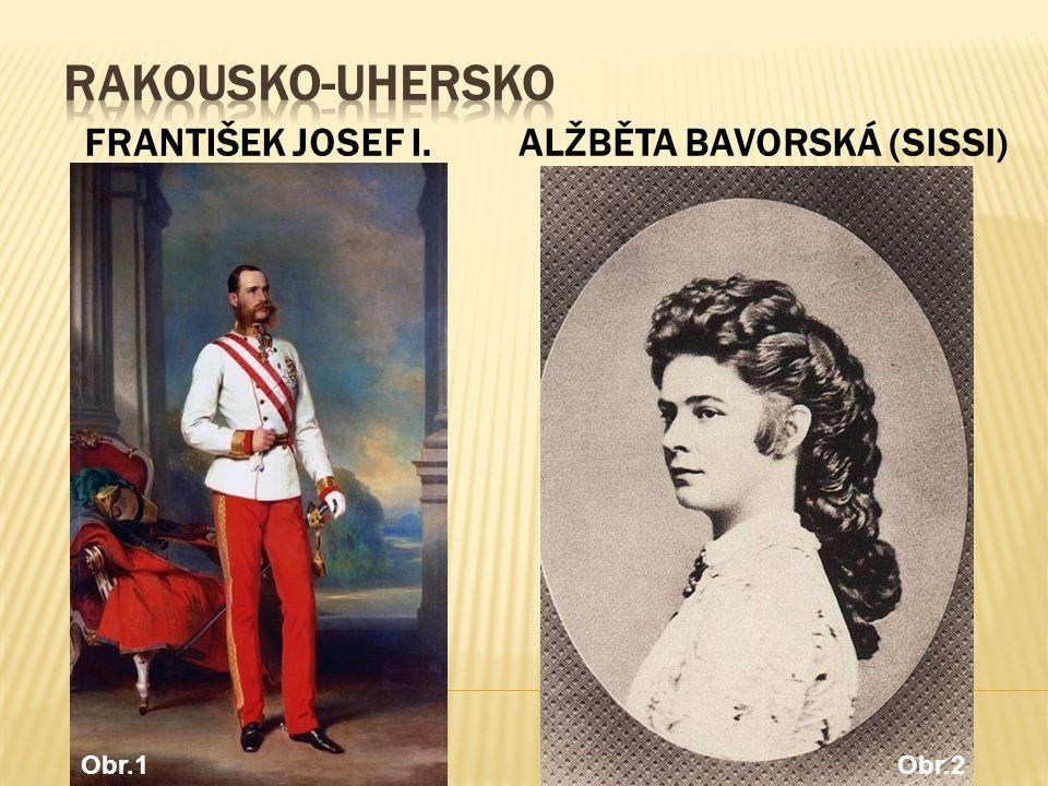 FRANTIŠEK JOSEF I.ALŽBĚTA BAVORSKÁ (SISSI) Obr.1Obr.2