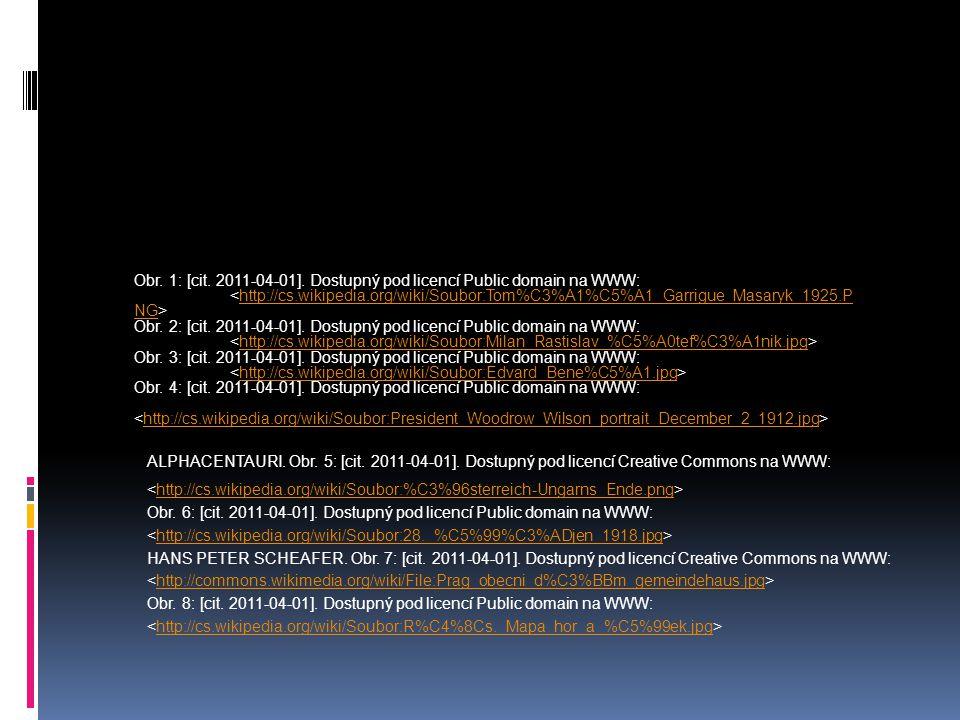 ALPHACENTAURI. Obr. 5: [cit. 2011-04-01]. Dostupný pod licencí Creative Commons na WWW: http://cs.wikipedia.org/wiki/Soubor:%C3%96sterreich-Ungarns_En