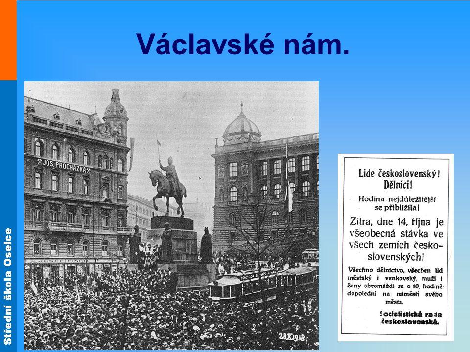 Střední škola Oselce Václavské nám.