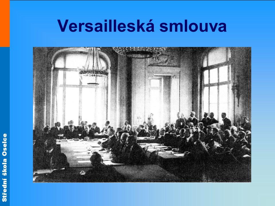 Střední škola Oselce Versailleská smlouva