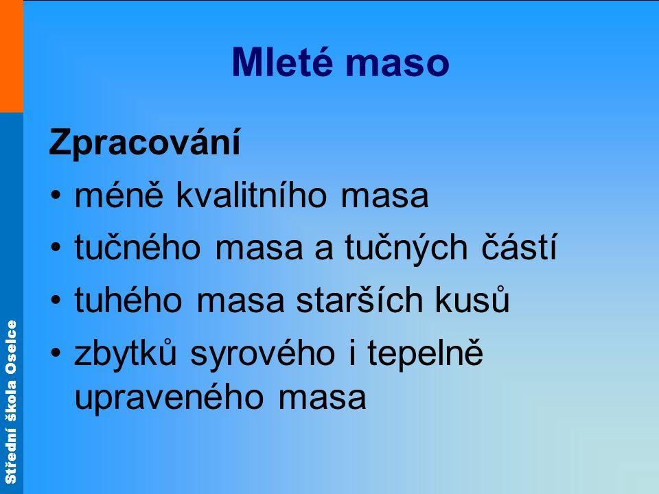 Střední škola Oselce Jaternicový prejt Pečlivě očištěnou a omytou vepřovou hlavu, bůček a plíce uvaříme se solí a cibulí doměkka.