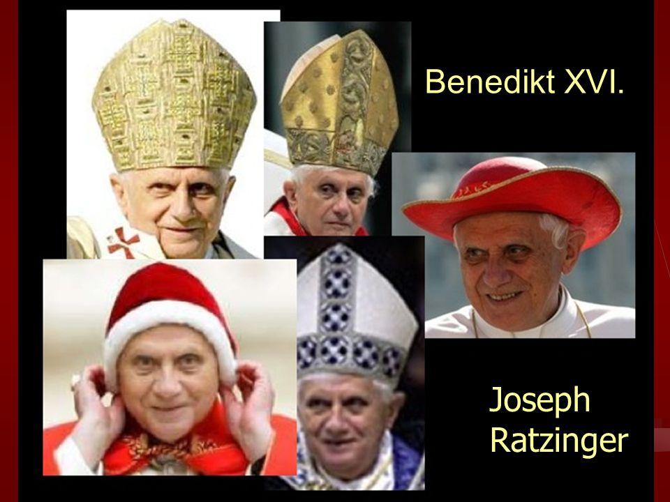 2 Křesťanská sociální etika. M. Martinek 201027 Benedikt XVI. JosephRatzinger
