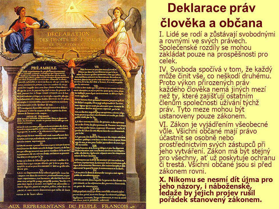 2 Křesťanská sociální etika. M. Martinek 201313 Deklarace práv člověka a občana I. Lidé se rodí a zůstávají svobodnými a rovnými ve svých právech. Spo