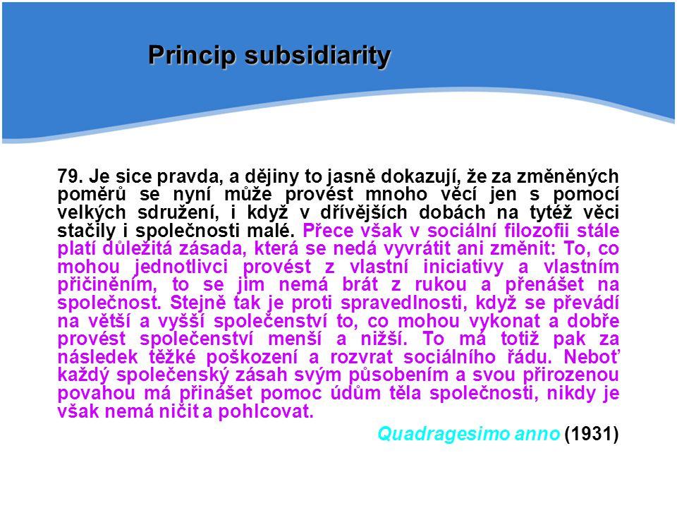 Sollicitudo rei socialis (1987) Explicitní obecná definice solidarity 38....