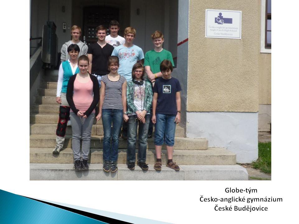 Globe-tým Česko-anglické gymnázium České Budějovice