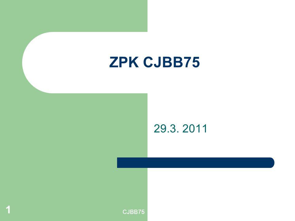 CJBB75 1 ZPK CJBB75 29.3. 2011