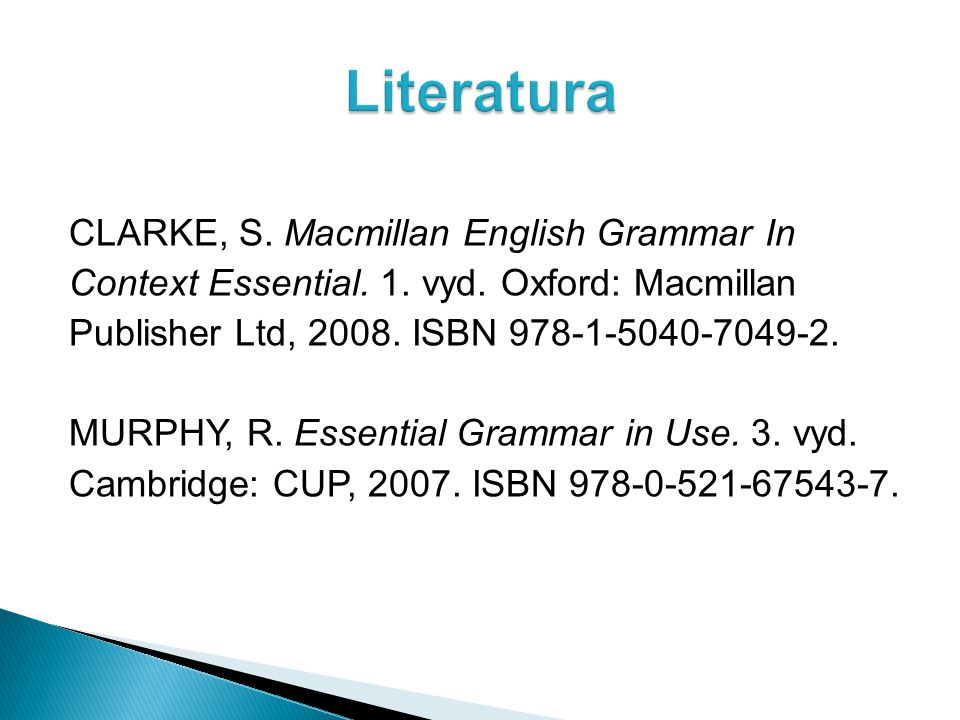 CLARKE, S. Macmillan English Grammar In Context Essential.