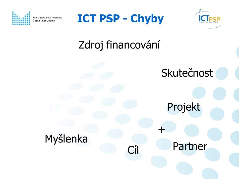 Národní informační den, 23.6. 2008, Praha 10 / 6 ICT PSP – co dělat pro úspěch.