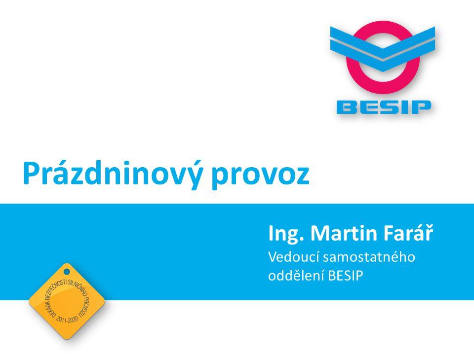 Prázdninový provoz Ing. Martin Farář Vedoucí samostatného oddělení BESIP