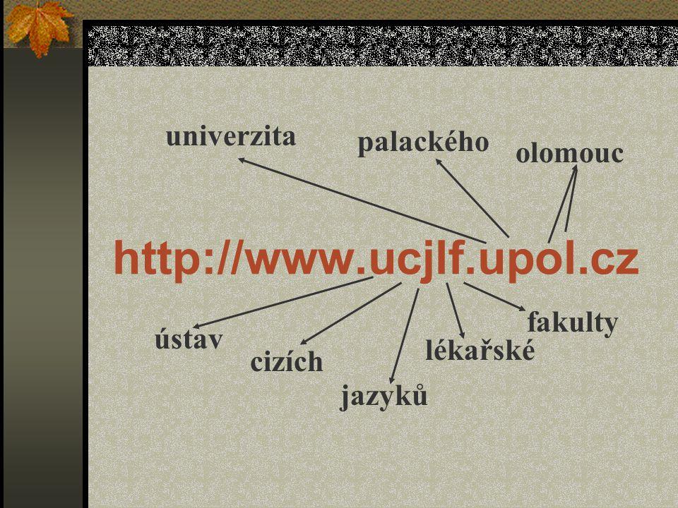 www.ucjlf.upol.cz Webové stránky ústavu… …používám a jsem spokojen/a s jejich podobou …používám, ale nejsem spokojen/a s jejich podobou …spíše nepoužívám …vůbec nepoužívám …nevím, že existují evaluace červen 2001