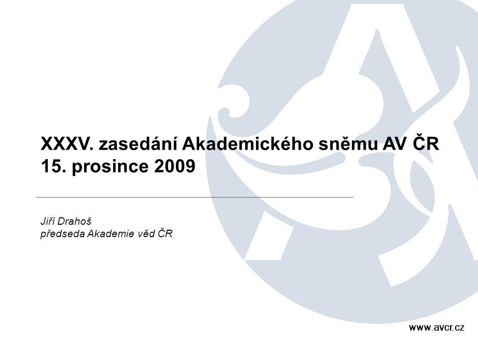 XXXV. zasedání Akademického sněmu AV ČR 15.