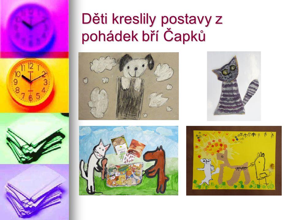 Děti kreslily postavy z pohádek bří Čapků