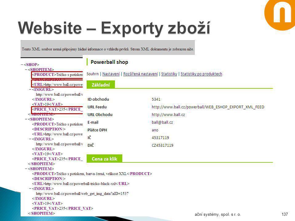 Notia Informační systémy, spol. s r. o.137