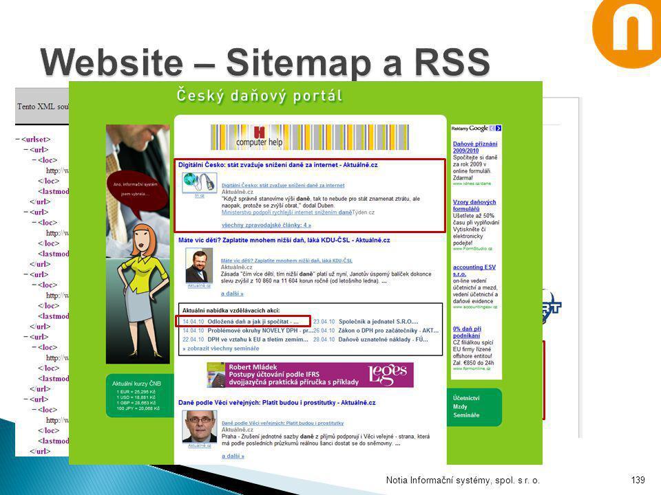 Notia Informační systémy, spol. s r. o.139