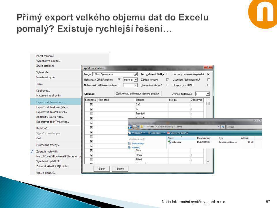 Notia Informační systémy, spol. s r. o.57