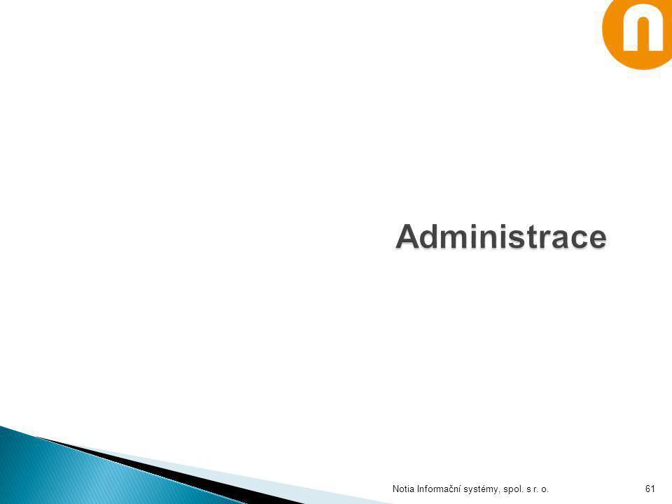 Notia Informační systémy, spol. s r. o.61