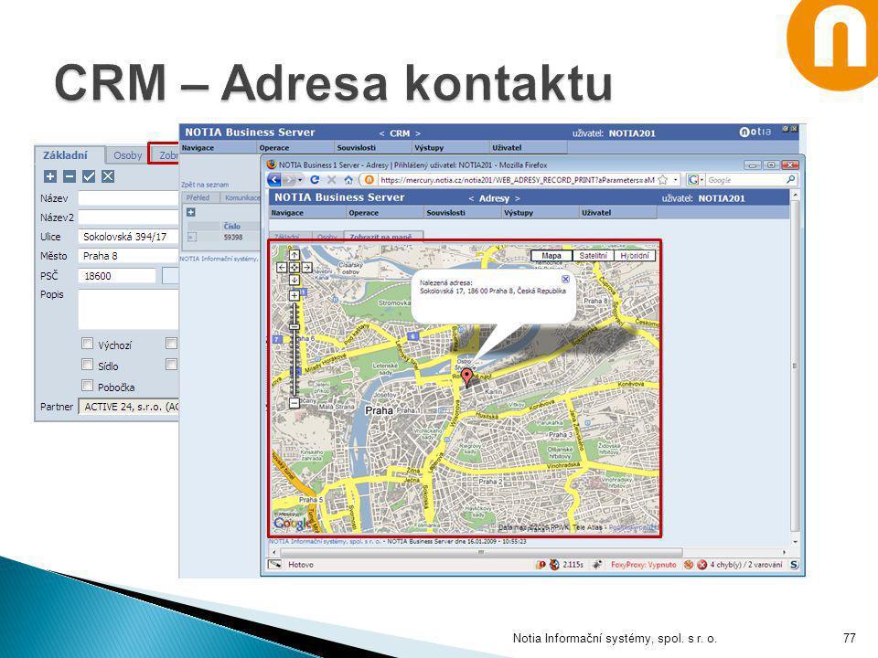 Notia Informační systémy, spol. s r. o.77