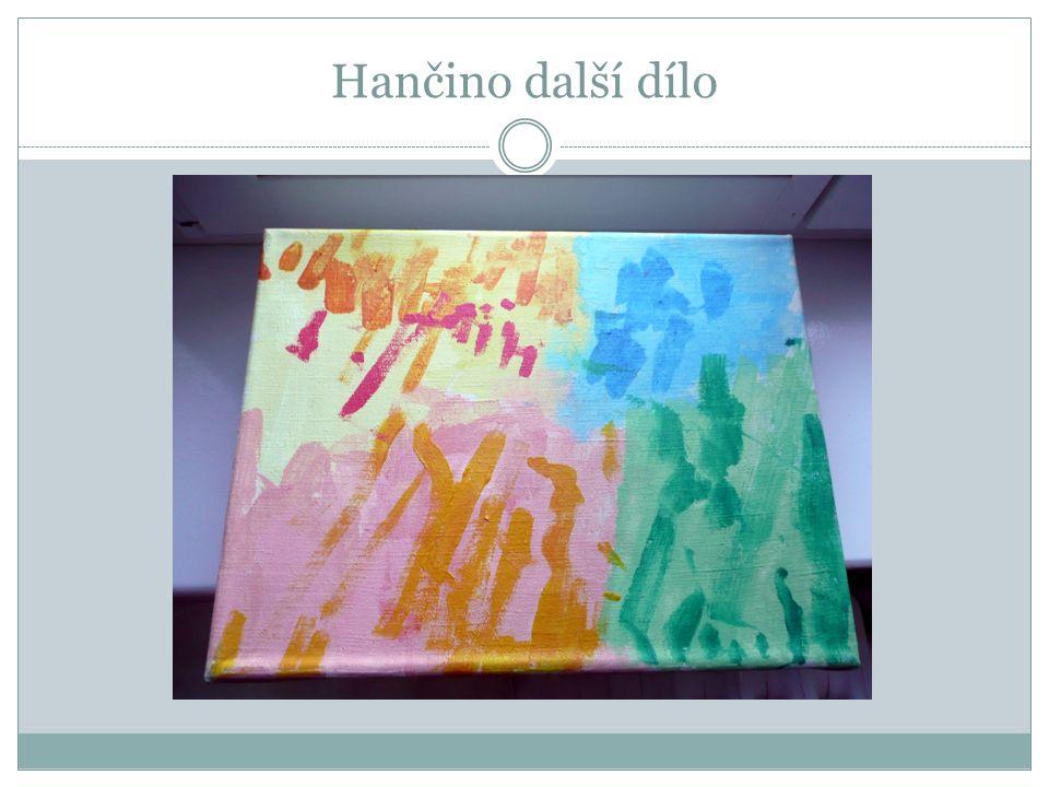 Každá barva v Hančiných obrazech vyjadřuje povahový rys každého z nás