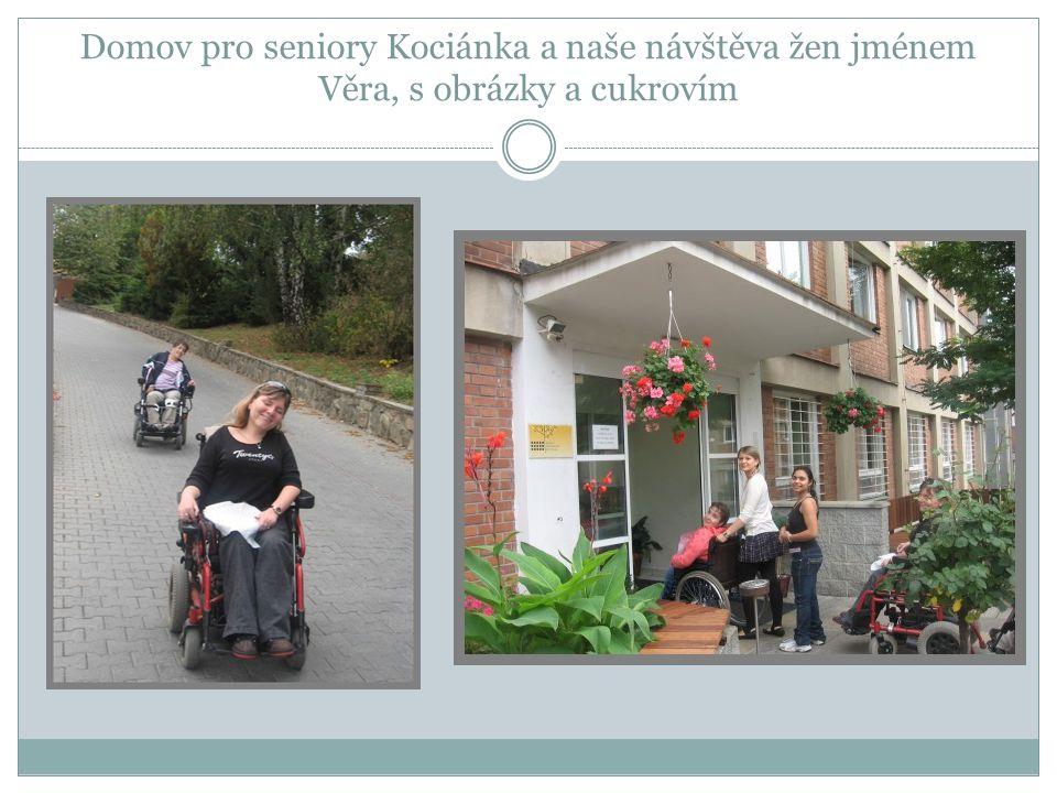 Navázání vztahu s domovem důchodců Pravidelné návštěvy a posezení s uživateli DD na Kociánce.