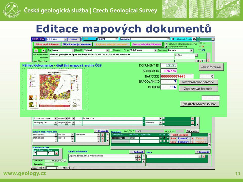 11 Editace mapových dokumentů