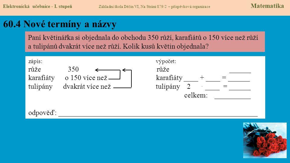 60.5 Procvičení Elektronická učebnice - I.