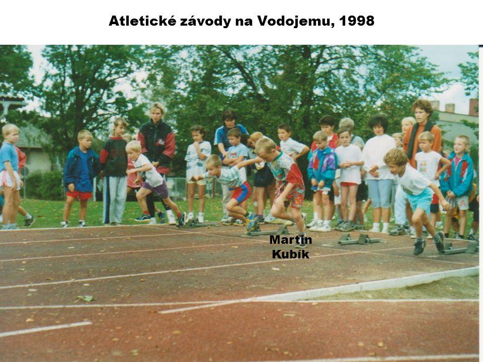 Atletické závody na Vodojemu, 1998 Martin Kubík