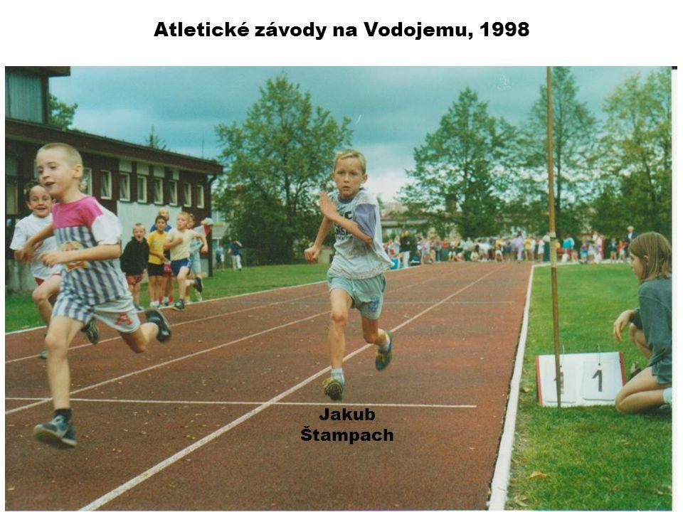 Atletické závody na Vodojemu, 1998 Jakub Štampach