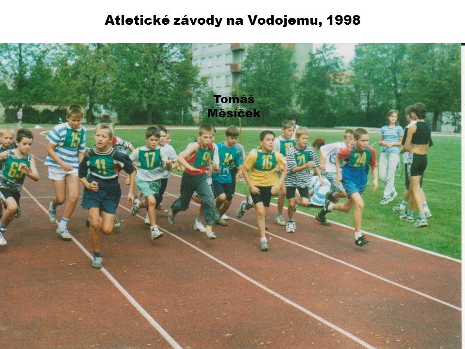 Atletické závody na Vodojemu, 1998 Tomáš Měsíček