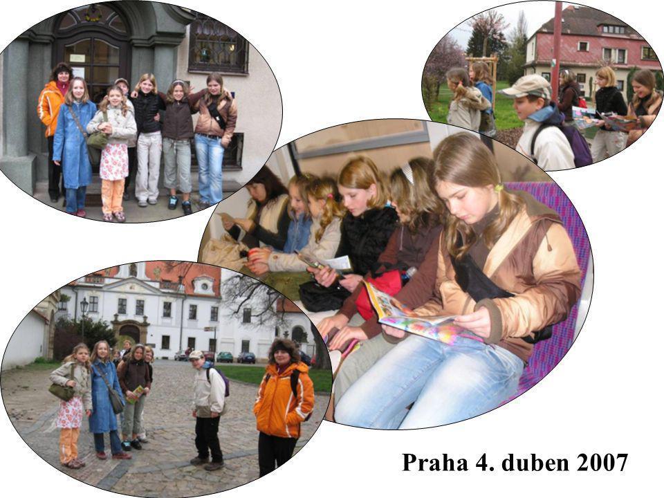 Praha 4. duben 2007